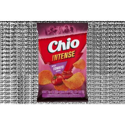 Chio Intense csípős paradicsom, chili és bors ízű burgonyachips 65 g