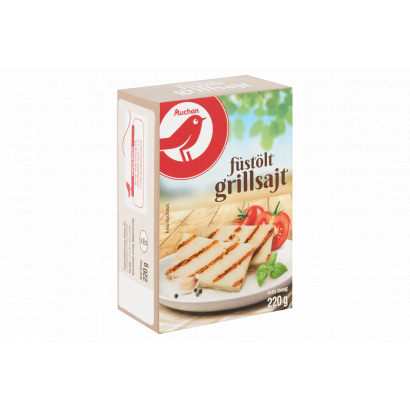 Auchan Füstölt grillsajt 220 g