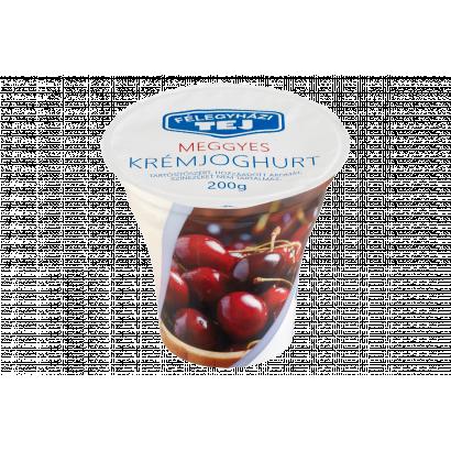 Félegyházi Tej meggyes krémjoghurt 200 g