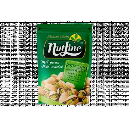 NutLine pörkölt, sózott, héjas pisztácia 130 g