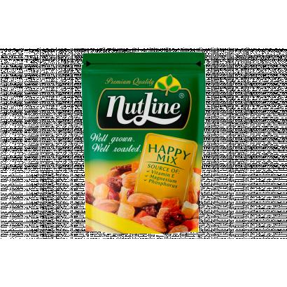 NutLine Happy Mix mandula és aszalt gyümölcsök keveréke 150 g