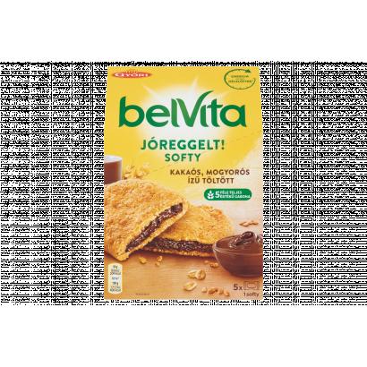 Belvita JóReggelt! Softy gabonás keksz mogyorós ízű kakaós töltelékkel 5 db 250 g