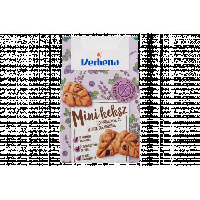 Verbena mini keksz levendulával és áfonya darabokkal 90 g