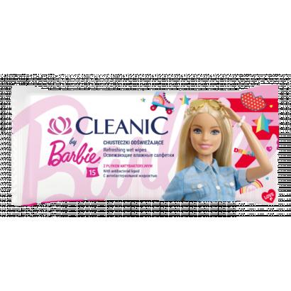 Cleanic Junior nedvesített frissítő törlőkendő 15 db