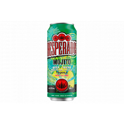 Desperados Mojito ízű világos sörkülönlegesség 5,9% 500 ml doboz