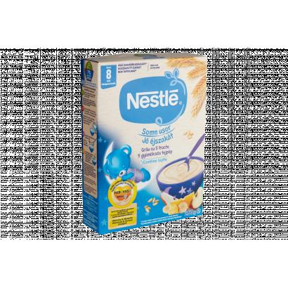 Nestlé Jó éjszakát 5 gyümölcsös tejpép 8 hónapos kortól 250 g