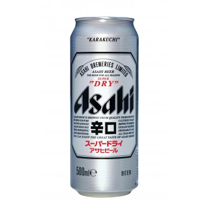 Asahi Super Dry minőségi világos sör 5,2% 500 ml