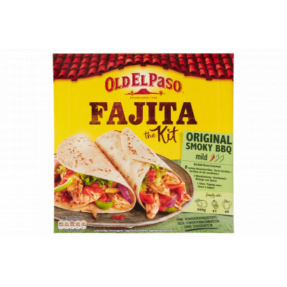 Old El Paso Classic Fajita Kit tortilla, paradicsomos salsa szósz és fűszerkeverék 500 g