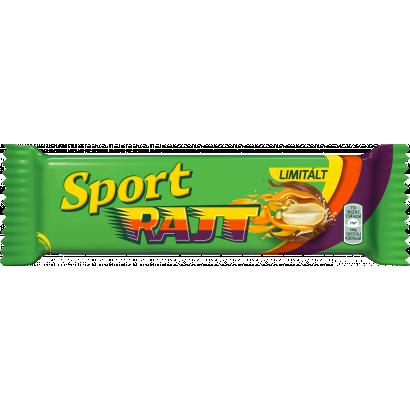 Sport Rajt tejcsokoládéval mártott szelet karamell réteggel és földimogyorós töltelékkel 49 g