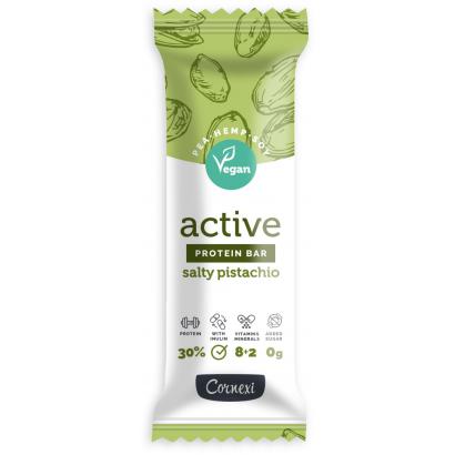 Cornexi Active sós pisztáciás fehérjeszelet vitaminokkal és ásványi anyagokkal 45 g
