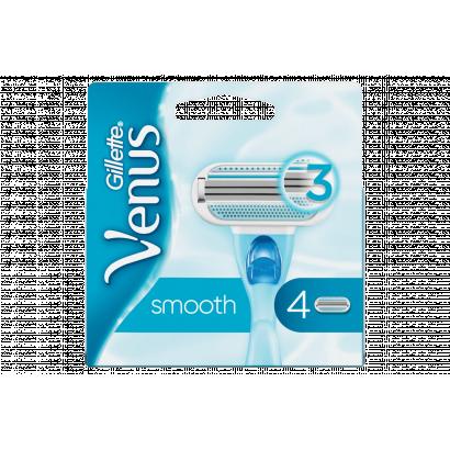 Gillette Venus Smooth Pótfej, 4 db