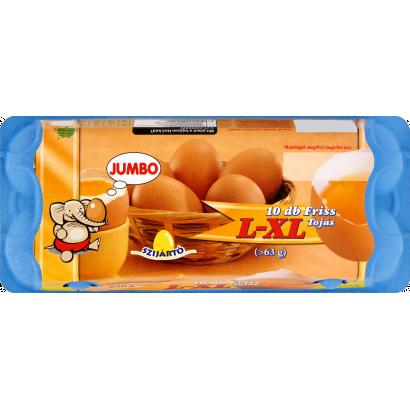 Szijártó Jumbo friss tojás L-XL 10 db