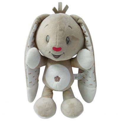 Auchan Baby plüss nyuszi, 28 cm
