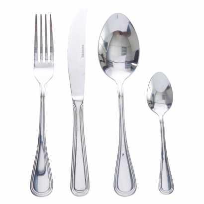 ACT S/S L SET OF 24 PCS SPOON + KNIFE + FORK + COFFEE SPOON