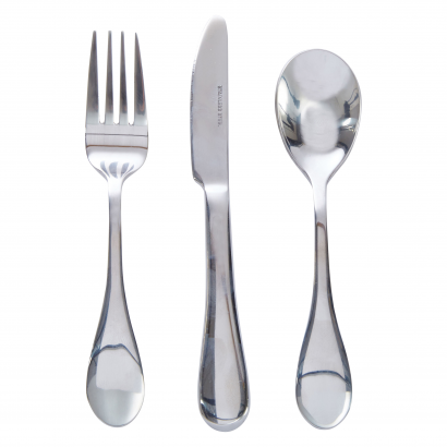 ACT S/S SET OF 3 PCS FORK + SPOON + KNIFE