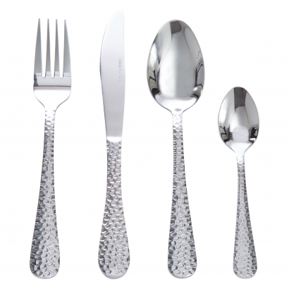 ACT STAINLESS STEEL SET OF 24 PCS SPOON + KNIFE + FORK + COFFEE SPOON