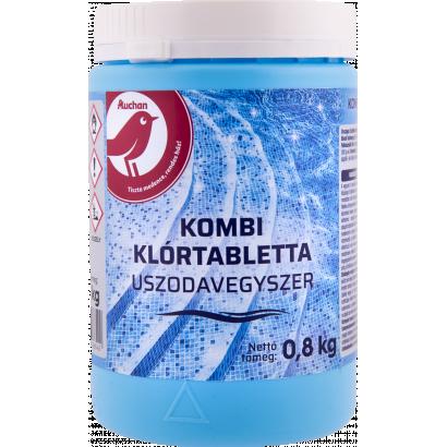 Auchan Nívó Kombi klórtabletta uszodavegyszer 0,8 kg