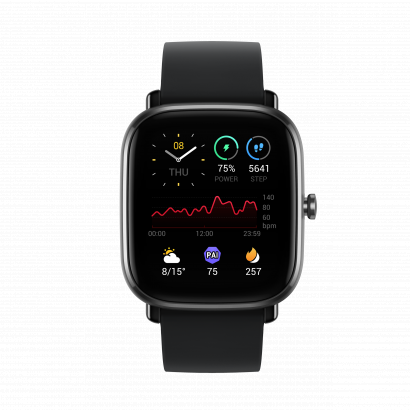 Amazfit GTS 2 Mini Smart watch fekete okosóra
