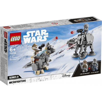 LEGO Star Wars AT-AT™ vs Tauntaun™ Microfighters (75298)