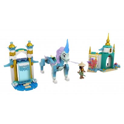 LEGO Disney Princess Raya és Sisu sárkány (43184)