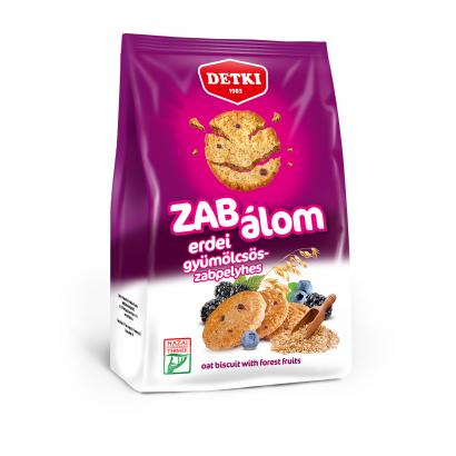 Detki Zab Álom erdei gyümölcsös-zabpelyhes omlós keksz 180 g