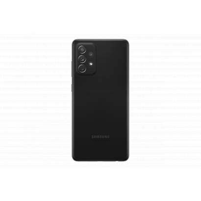Samsung Galaxy A72 DS 128GB fekete mobiltelefon