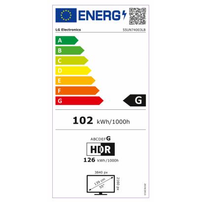 Lg 55UN74003LB UHD Smart LED TV