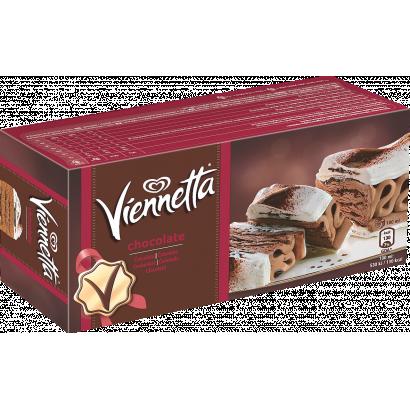 Viennetta csokoládés és fehércsokoládés jégkrém kakaós bevonó rétegekkel 650 ml