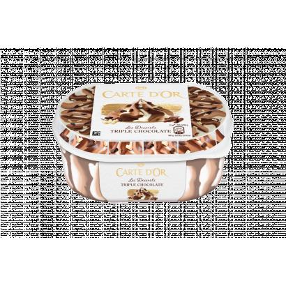 Carte D'Or Tripla Csokoládés Jégkrém 900 ml
