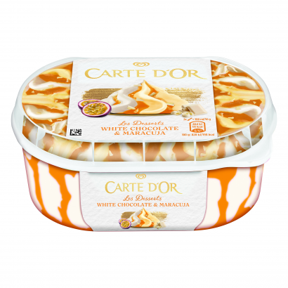 Carte D'Or jégkrémFehércsokoládés-Maracujás 900 ml
