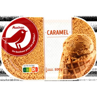 Auchan Nívó jégkrém karamell 500G