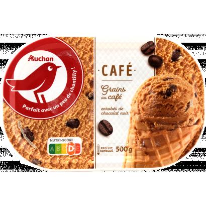 Auchan Nívó jégkrém kávé 500 G