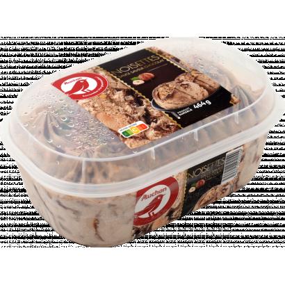 Auchan Nívó jégkrém vanília-csoki 460 G