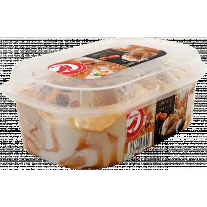 Auchan Nívó jégkrém vanília-karamell 500G