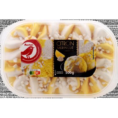 Auchan Nívó jégkrém vanília-citrom-hcsók 500 G