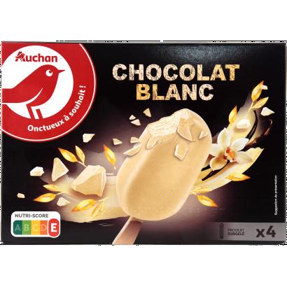Auchan Nívó fehér csoki x4 300 G