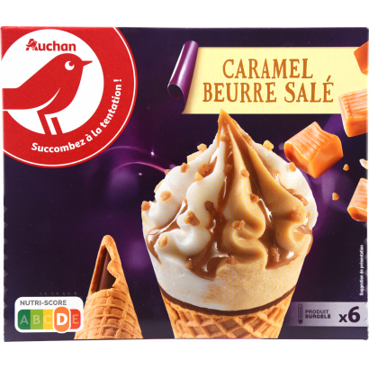 Auchan Nívó sós karamell x6 426 G