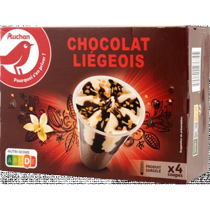 Auchan Nívó vanília-csoki x4 276 G
