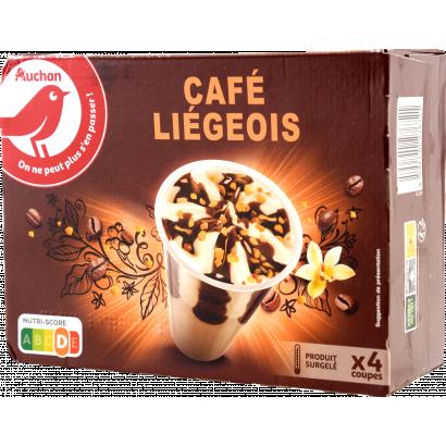 Auchan Nívó vanília-kávé x4 276 G