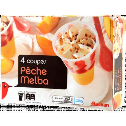 Auchan Nívó vanília-barack x4 282 G
