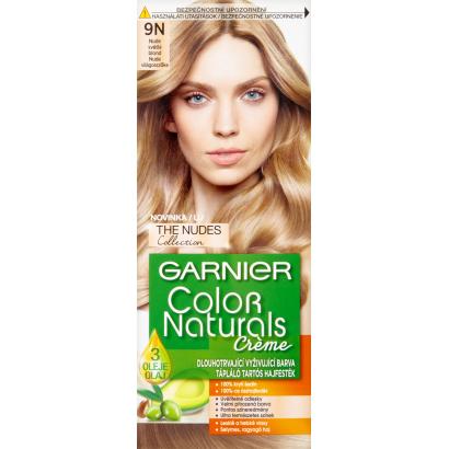 Garnier Color Naturals Creme 9N Nude Világosszőke tápláló tartós hajfesték