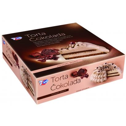 Ledo puha kakaós piskóta csokoládés jégkrémmel töltve 1000 g