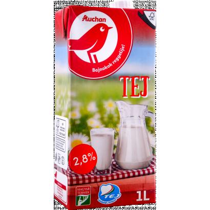 Auchan Nívó UHT tej 2,8% 1 l