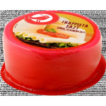 Auchan Nívó Trappista sajt egész nettó: 1,355 kg