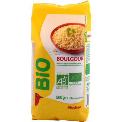 Auchan Nívó BIO Bulgur 500 g
