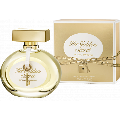 Antonio Banderas  Her Golden Secret  női parfüm 50 ml