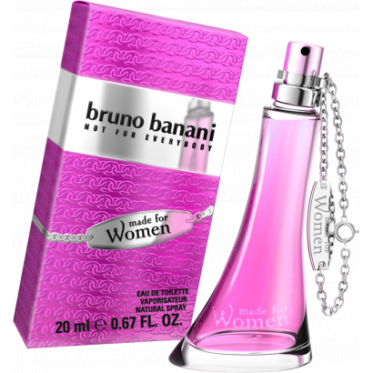 Bruno Banani Made for Woman parfüm,  Eau de Toilette 20 ml