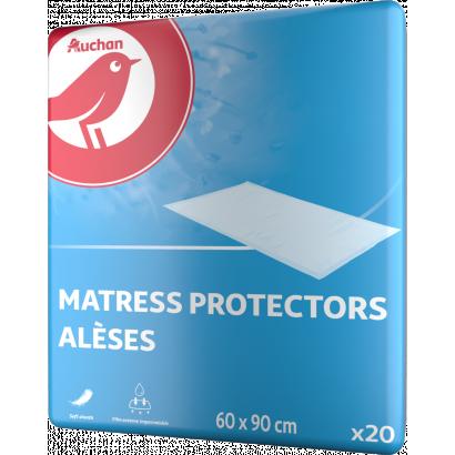 Auchan Nívó Alátét ágy és székvédelemre 60 x 90 cm felnőtt inkontinencia  20  db