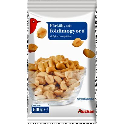 Auchan Nívó Pörkölt sós földimogyoró 500 g