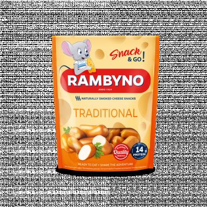 Rambyno Snack & Go natúr füstölt snack sajt 75 g
